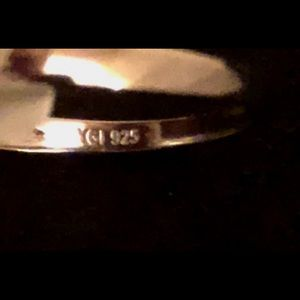 Silverly .925 Sterling Silver Love Open Hearts adjustable 22.8 mm Ring